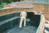 Fibreglass pond liners linings barnsley south yorkshire for Koi pond builders yorkshire